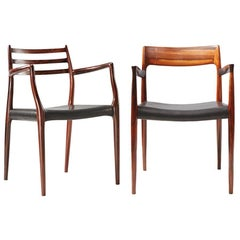 Niels Moller 62 and 57 Armchairs