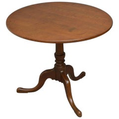George III Oak Tilt-Top Table