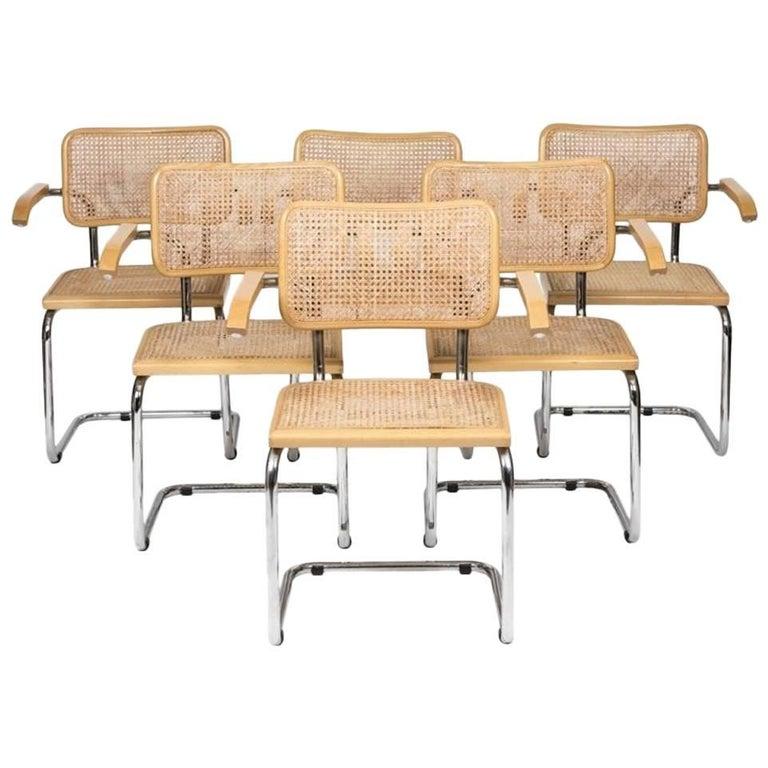 """1970s Marcel Breuer Cane """"Cesca"""" Chair"""