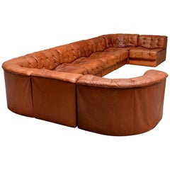 De Sede DS11 Sectional Leather Sofa