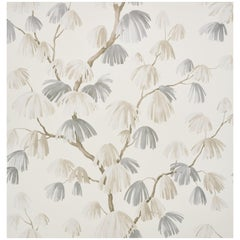 Schumacher David Kaihoi Weeping Pine Botanical Neutral Wallpaper, 9 Yard Roll