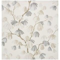 Schumacher David Kaihoi Weeping Pine Botanical Neutral Wallpaper, 8 Yard Roll