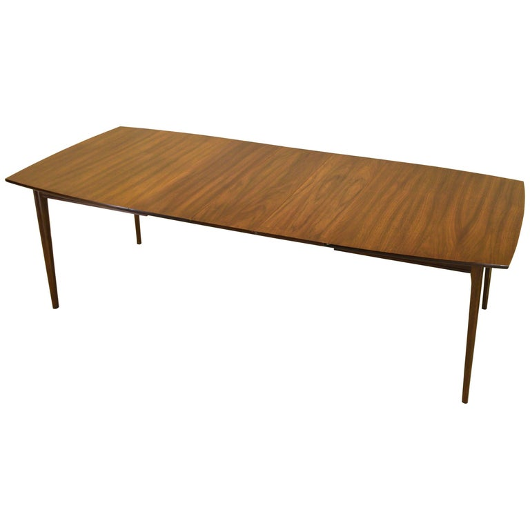 Extension Dining Table in Black Walnut For Sale at 1stdibs : 8953763master from www.1stdibs.com size 768 x 768 jpeg 26kB
