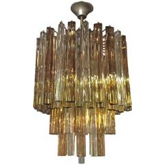 Original Venini Glass Chandelier