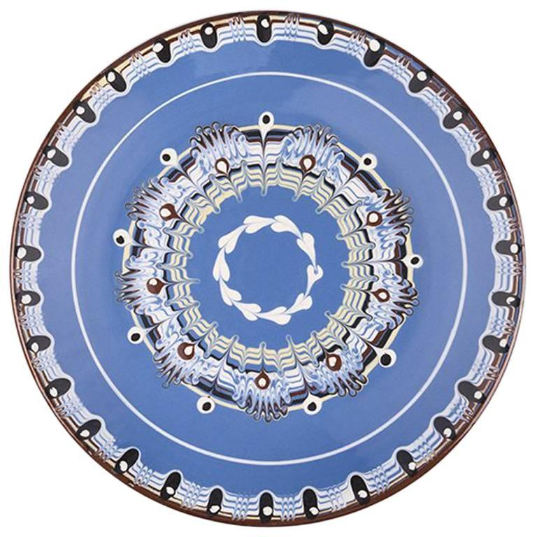 Vintage Ceramic Bulgarian Plate from 1960s 1