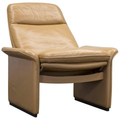 De Sede DS 50 Leather Relax Chair Ochre Modern