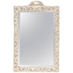 "19th Century English Sterling ""Make-Up"" Mirror"