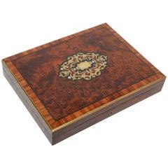19th Century English Game Box