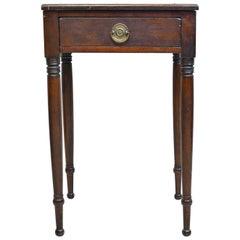 Small Federal or Sheraton Nightstand in Mahogany, circa 1800