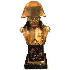 Bronze Napoleon Bust