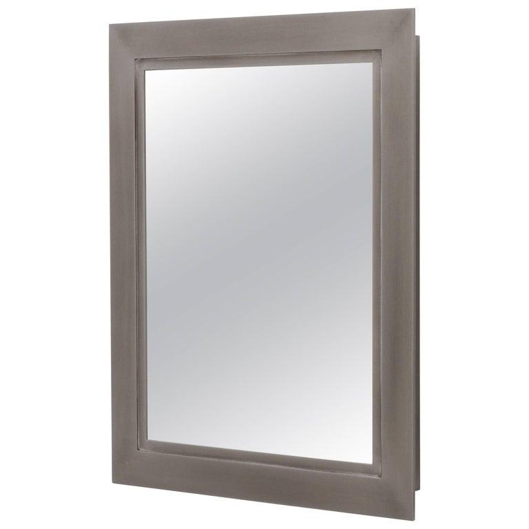 Bark Frameworks Lumina Wall Mirror, Aluminium with Patina Finish 1