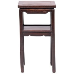 19th Century Chinese Rosewood Tea Table