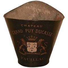 19th Century French Vineyard Grape Hod from Chateau Grand Puy Ducasse Pauillac