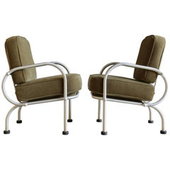 Pair of Lounge Chairs by Warren McArthur