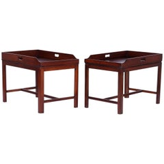 Pair of Georgian Style Tray Tables