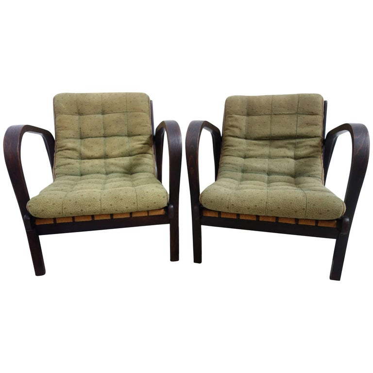 Missoni Home Cordula Easy Chair: Set Of Kropacek And Kozelka Easy Chairs From