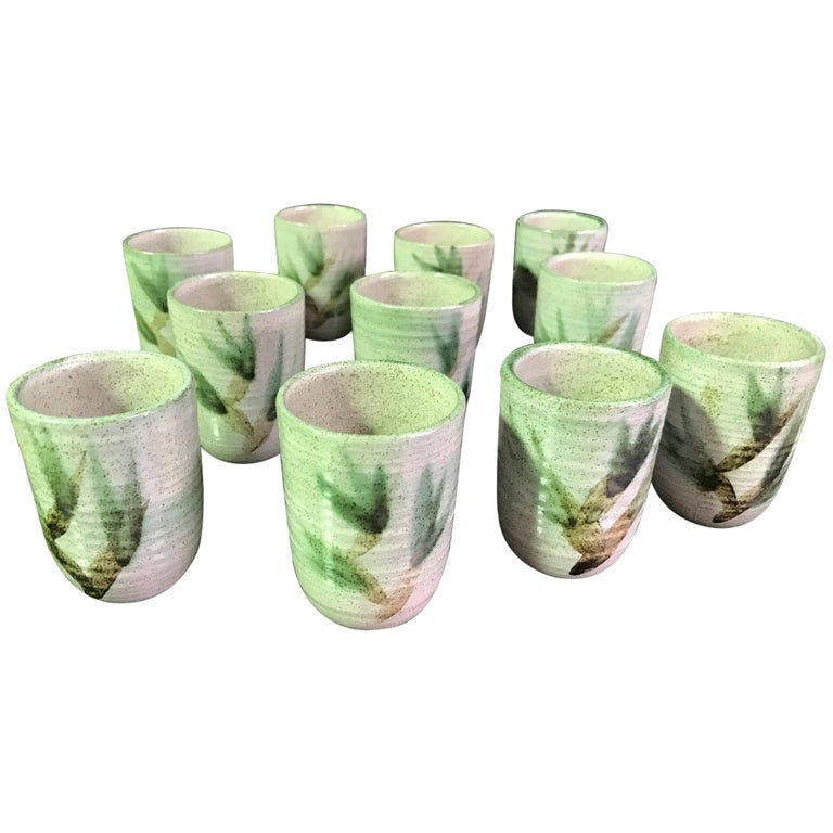 Otto & Vivaka Heino Ceramic 12-Piece Goblet/ Cup Set