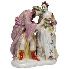 Fortune Teller Figure. Bow Porcelain C1750