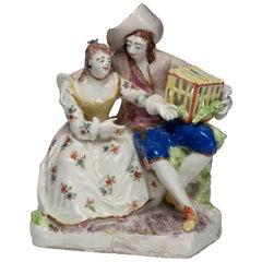 Figure representing Matrimony. Bow Porcelain C1751