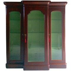 Haberdashery Apothecary Shop Display Cabinet Vitrine Mahogany Victorian Antique