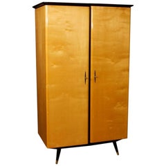 French Design Wardrobe in Wood, 20th Century