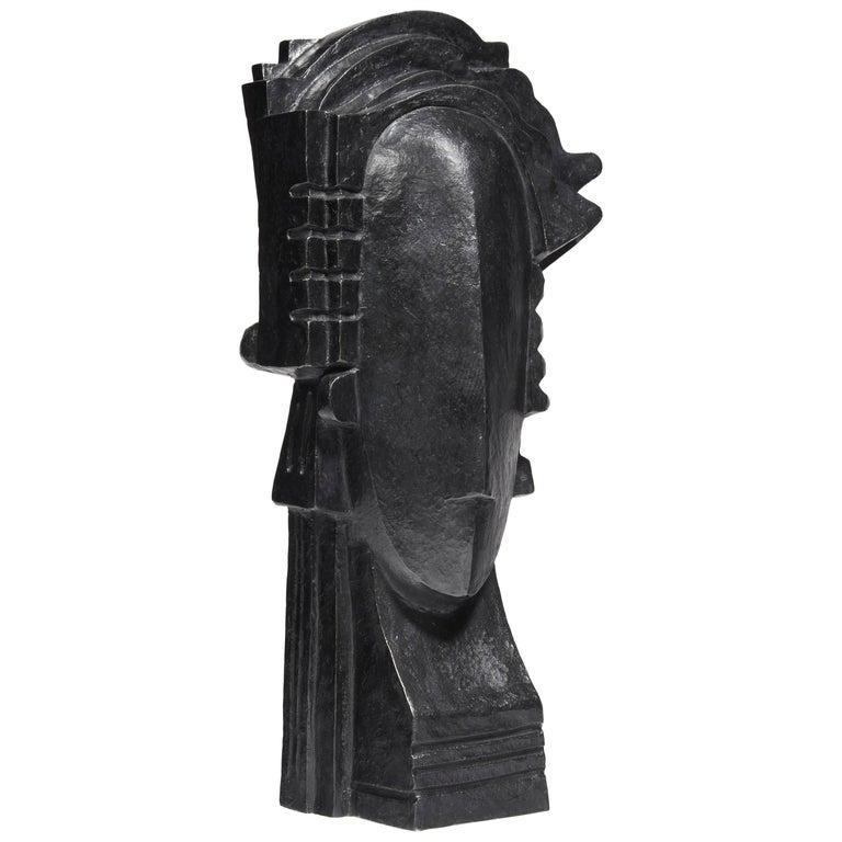 """""""Saphir"""" Sculpture by Kelli Bedrossian, 2016 For Sale"""
