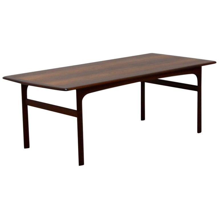 Vintage Coffee Table In Teak, Circa 1969 For Sale At 1stdibs