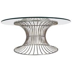 Mid-Century Modern Warren Platner Style Coffee Table