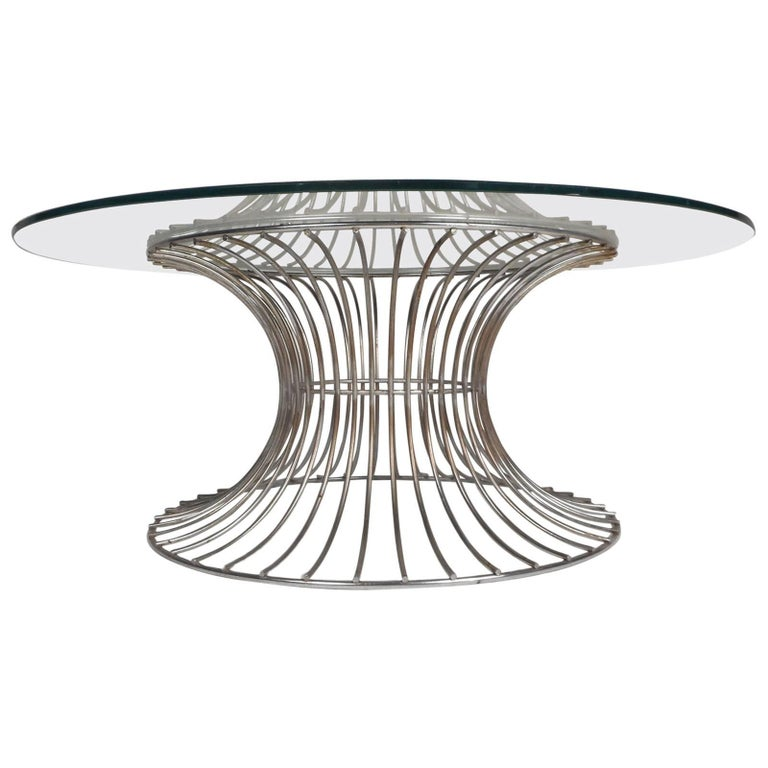 Mid Century Modern Warren Platner Style Coffee Table For Sale At 1stdibs