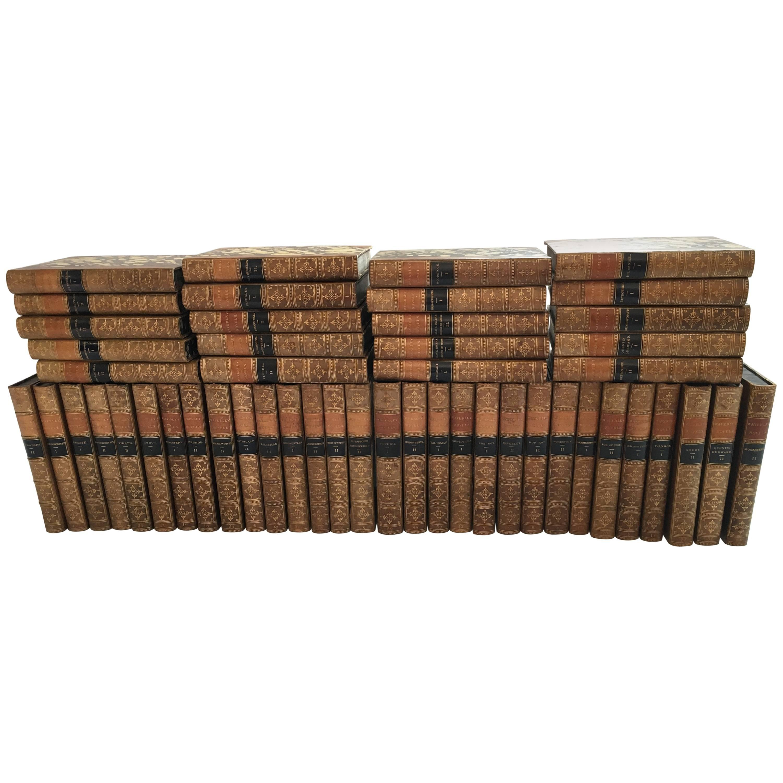 Waverley Novels in 50 Volumes by Sir Walter Scott, Boston, 1857