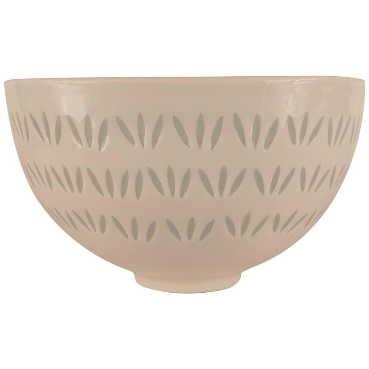 Porcelain Bowl for Arabia by Friedl Holzer Kjellberg