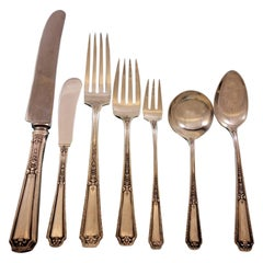 Louis XIV by Towle Sterling Silver Flatware Set for 12 Service 91 Pieces