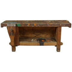 French Work Table, circa 1950