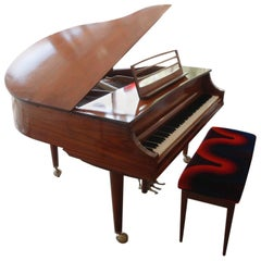 "Vintage Baby Grand Piano by Kimball ""Le Petit"""