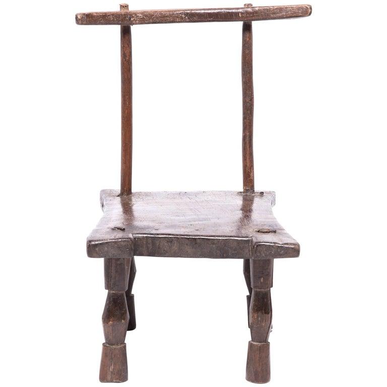 Dan Chair with Double Hourglass Legs