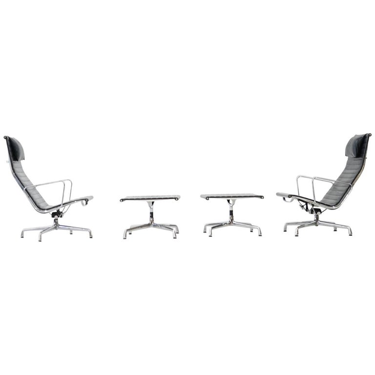 EA 124 + 125 Vitra Lounge Chair by Charles & Ray Eames