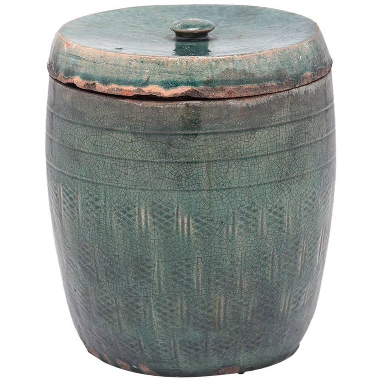 19th Century Chinese Apothecary Jar