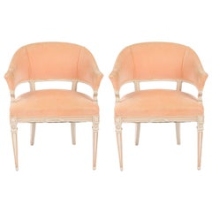 1940s Pair of Louis XVI Style Chairs
