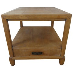 Century Furniture Ming Style End Table