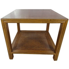 McGuire Side Walnut Table
