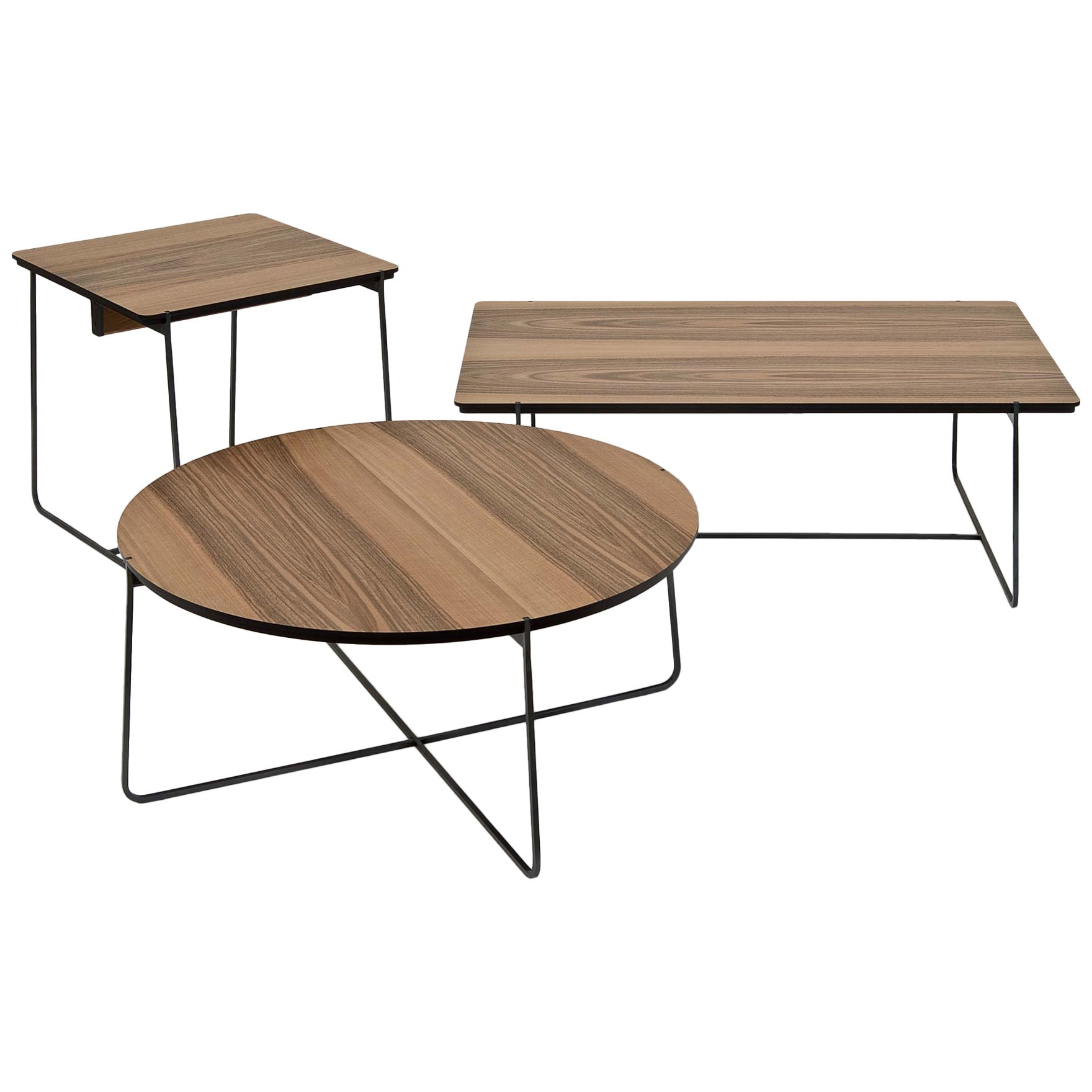 """""""Cuvee XL"""" Low Rectangular Side Table by Stephane Lebrun for Dessie'"""