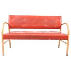 Bench by Frits Schlegel