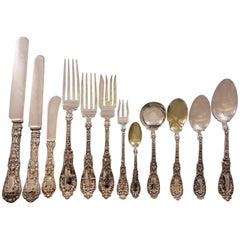 Paris by Gorham Sterling Silver Flatware Set Art Nouveau Cherubs 159 pcs Dinner