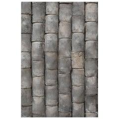 Sets of One-Hundred Vintage Ceramic Roof Tiles