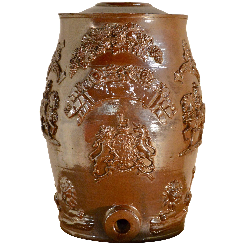 19th Century English Spirit Barrel
