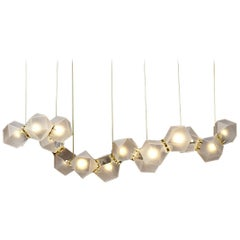 Welles Glass Chandelier by Gabriel Scott