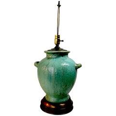 Pottery Lamp by Fulper