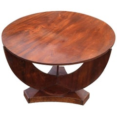 Art Deco English Coffee / Occasional Table