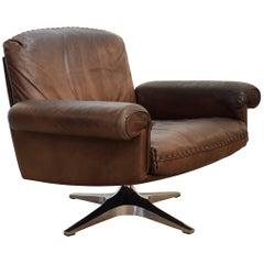 Vintage De Sede Ds 31 Lounge Armchair, 1970s