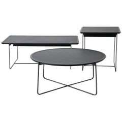 """Cuvee De Nuit"" Low Rectangular Side Table by Stephane Lebrun for Dessie'"